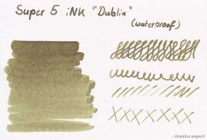 Super5 iNK Dublin - Farbkarte
