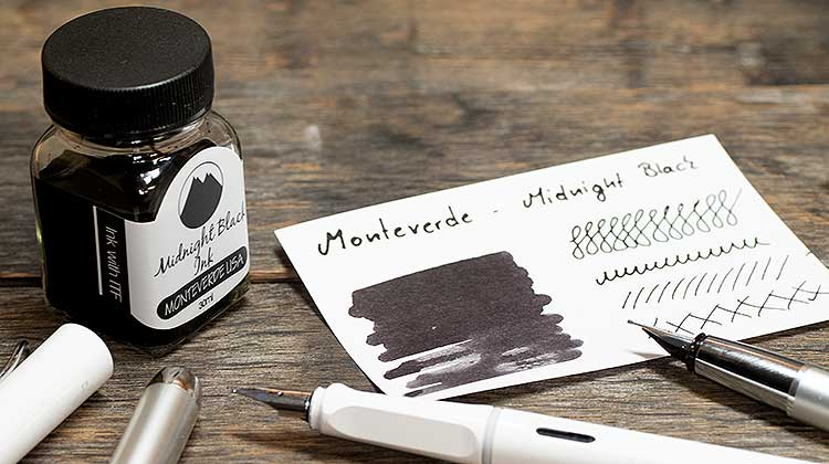 midnight black monteverde - Monteverde - Midnight Black | Tinte des Monats