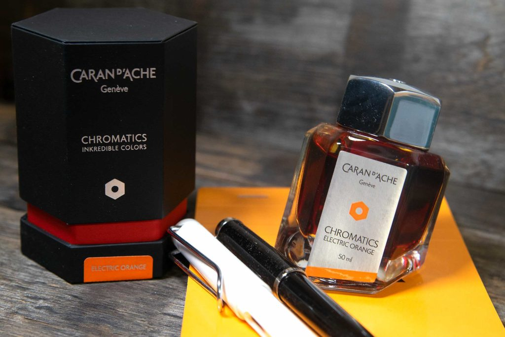 caran d ache electric orange 1 1024x683 - Die Caran d'Ache - Electric Orange