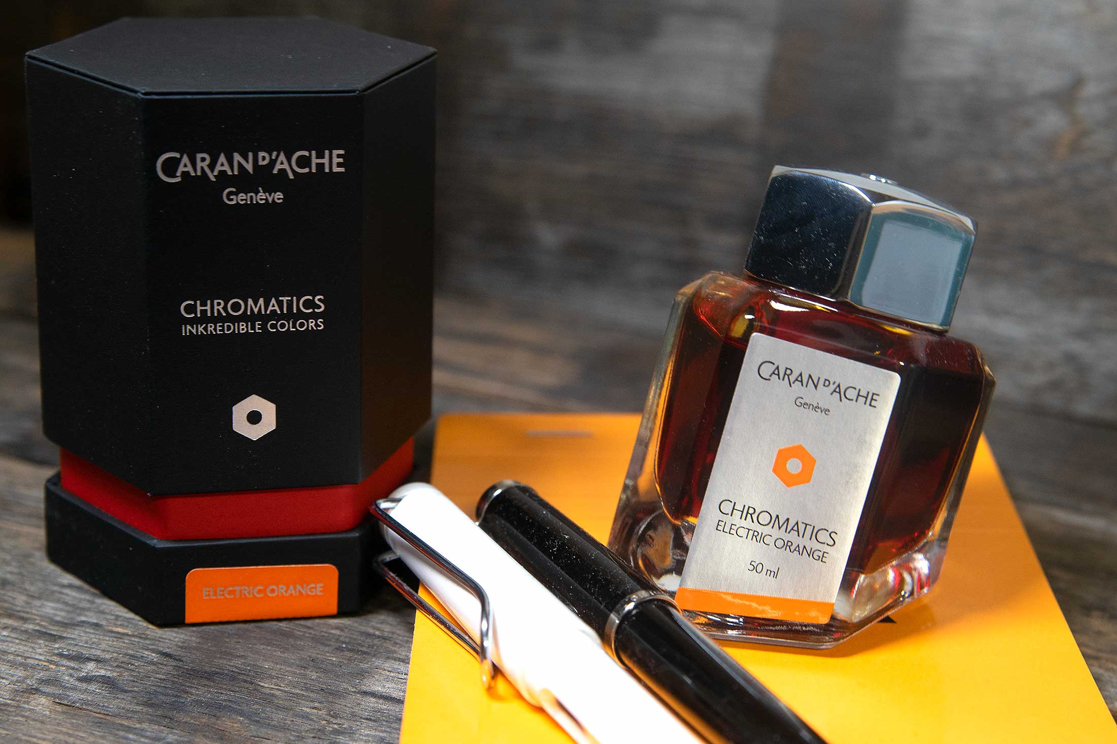 Die Caran d'Ache – Electric Orange