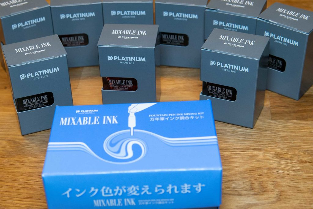 platinum mixable ink 1024x683 - Platinum Mixable Ink - Mischbare Tinten